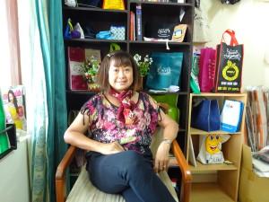 Bà Dương Thị Kiều Nga – Chủ Tịch CLB Bệnh Nhân Hô Hấp TPHCM