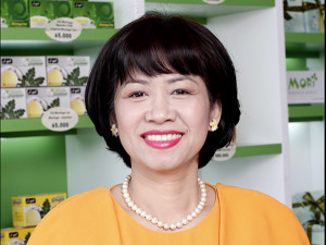 Bà Phan Thị Tuyết Mai – CEO and Founder CTY Tài Nguyên SeaFood và CTY TMTM Company.
