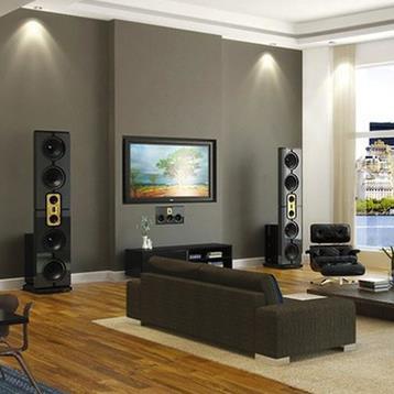 Âm thanh phòng nghe nhạc - giải trí gia đình