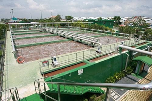 Xử lý nước thải nhà máy in