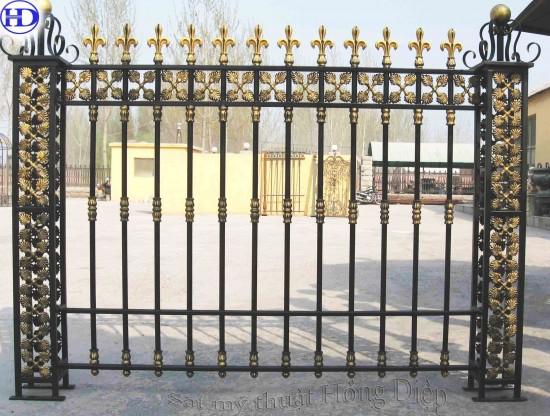 Hàng rào sắt mỹ thuật