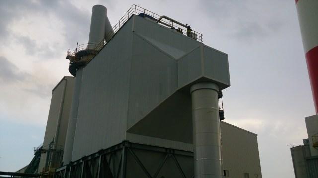 Hệ thống xử lý khói nhà máy