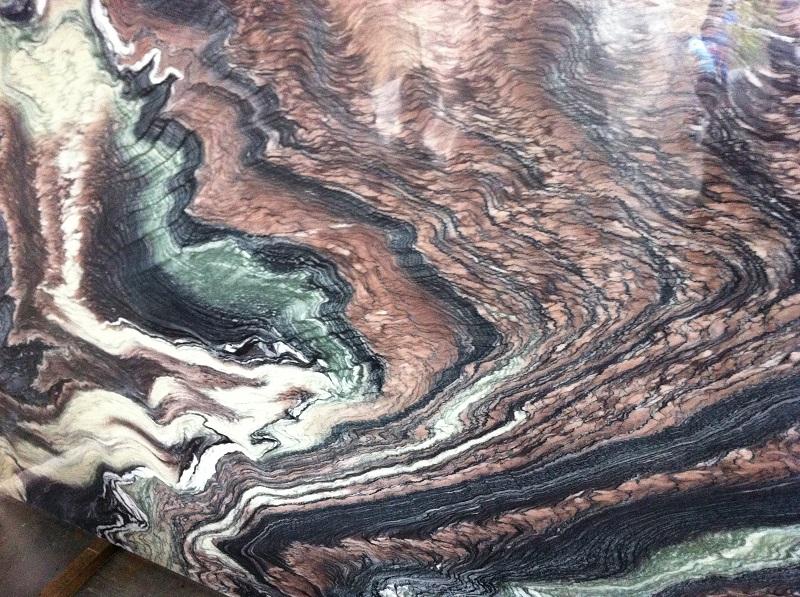 Đá Marble sơn thủy