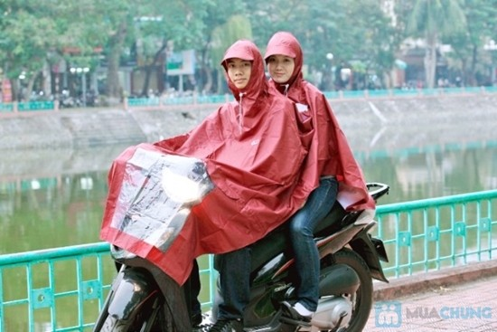 áo mưa hai đầu