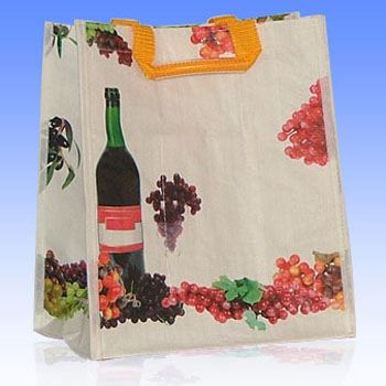 Túi vải đựng rượu