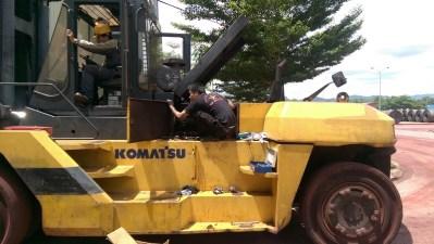 Sửa chữa, bảo trì xe nâng