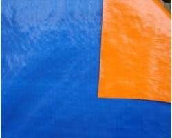 Bạt màu xanh - cam