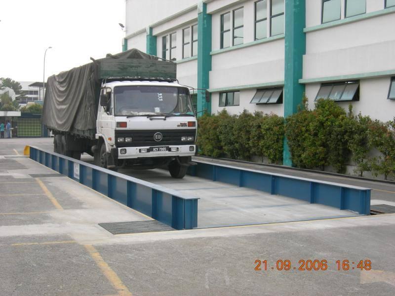 Cân xe tải chìm