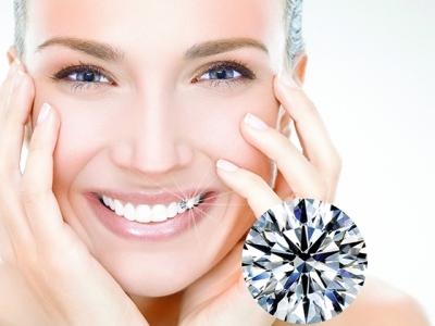 Đính đá kim cương trên răng