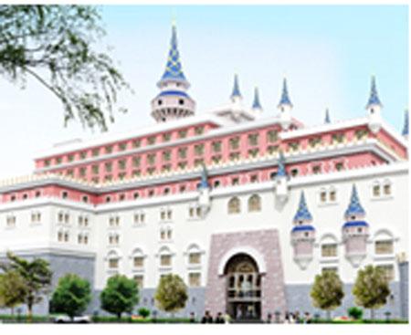 Thi công sơn khách sạn chateau