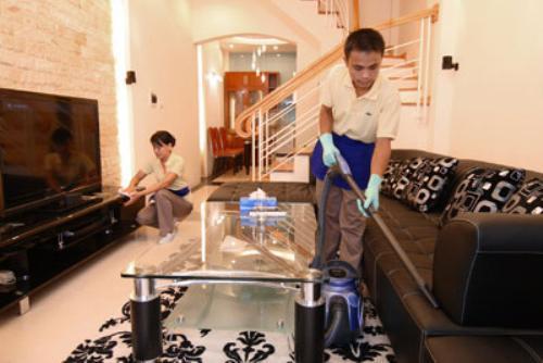 Dịch vụ vệ sinh cho hộ gia đình