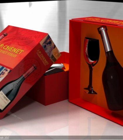 Hộp rượu cao cấp