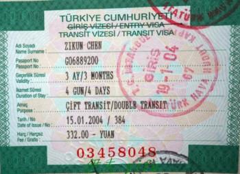 Visa du lịch Thổ Nhĩ Kỳ