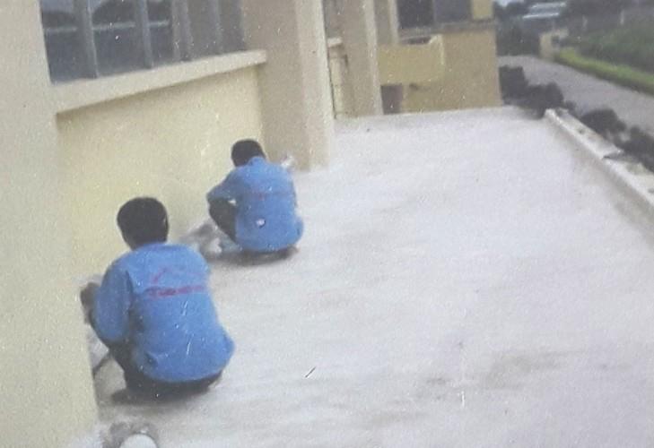 Xử lý thấm sàn mái bê tông