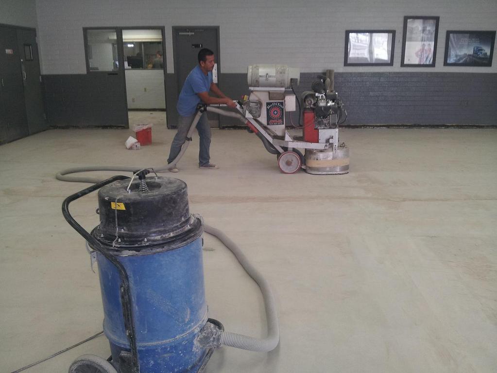 Chà sàn bê tông nhà xưởng