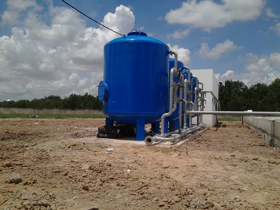Hệ thống giếng và xử lý nước cấp