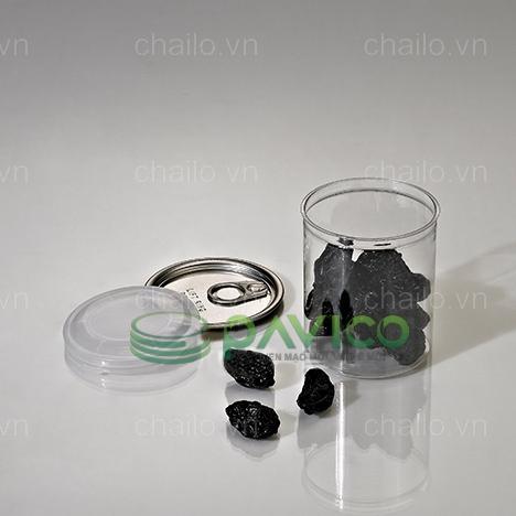 Hũ nhựa nắp nhôm