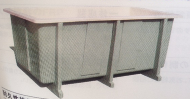 Bể chứa đựng thủy hải sản composite