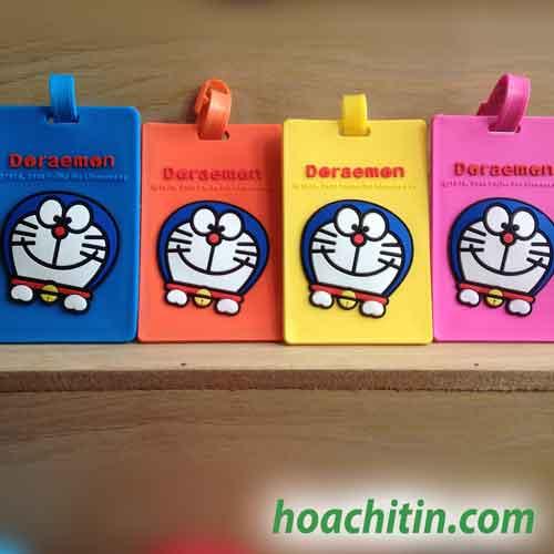 Thẻ đeo hành lý Doraemon