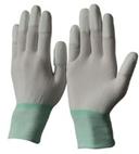 Găng tay trắng  phủ PU đầu ngón