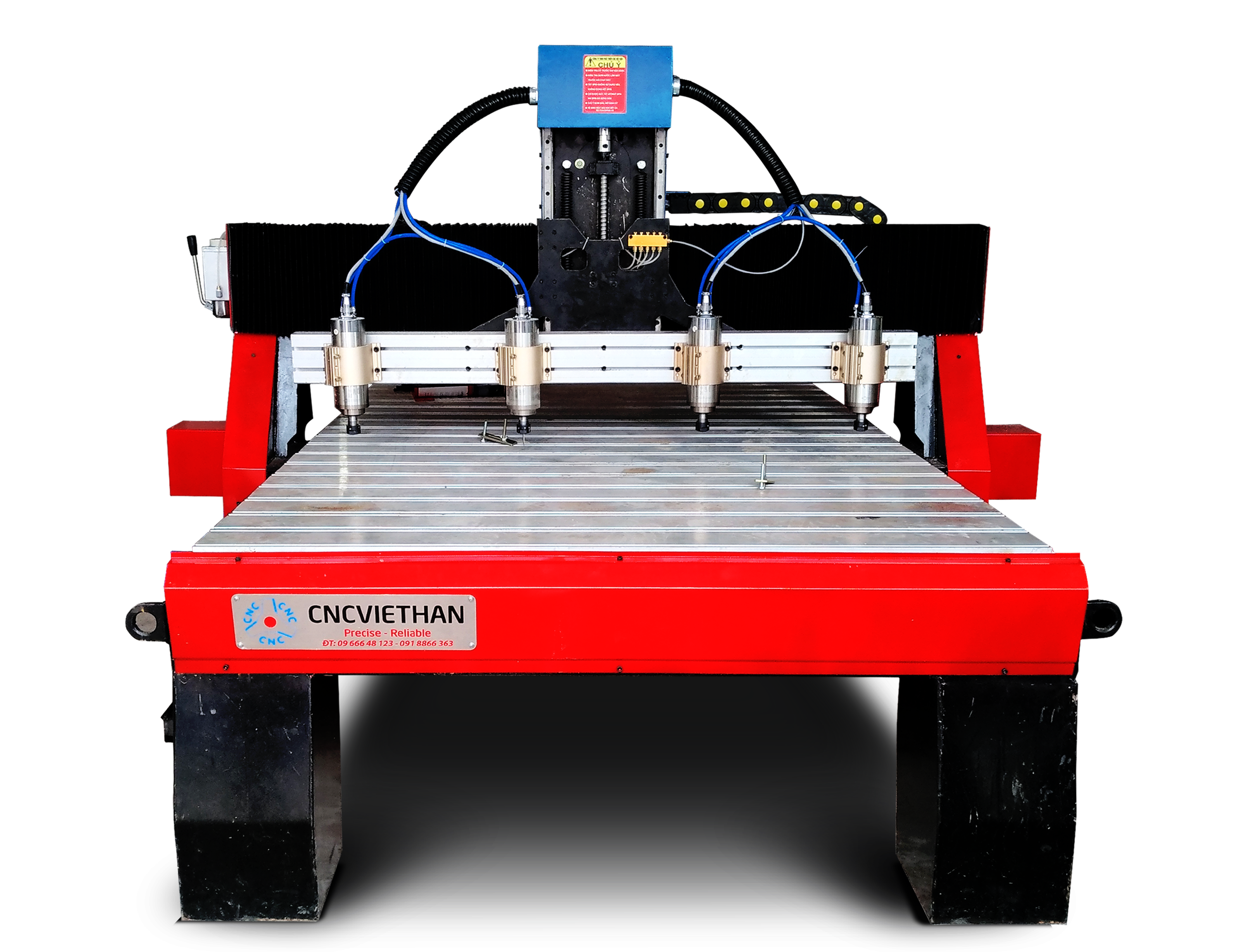 Máy CNC đục gỗ vi tính 4 đầu