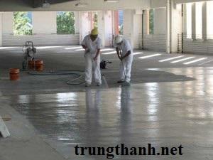 Tăng cứng nền bê tông