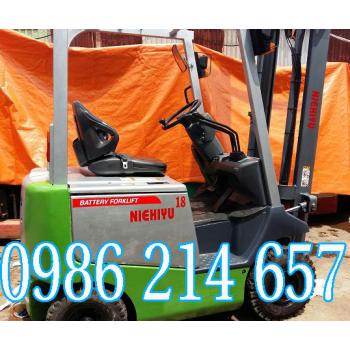 Xe nâng điện cũ Nichiyu 4,5m 1,8 tấn