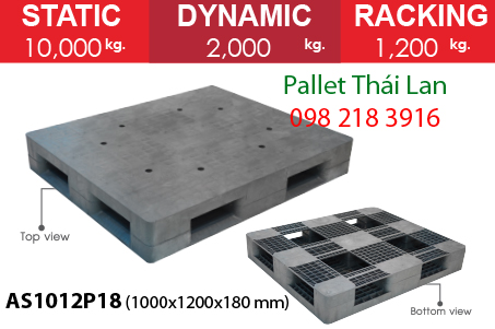 Pallet nhựa siêu chịu tải