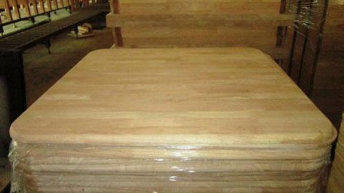 Sản phẩm nguyên liệu gỗ cao su