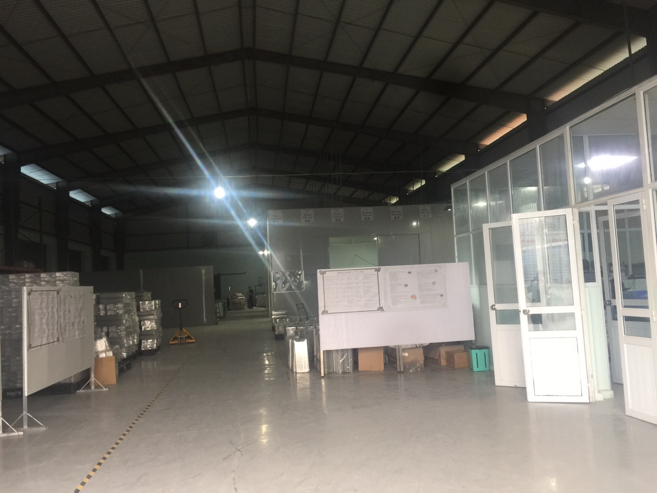 Hình ảnh kho xưởng