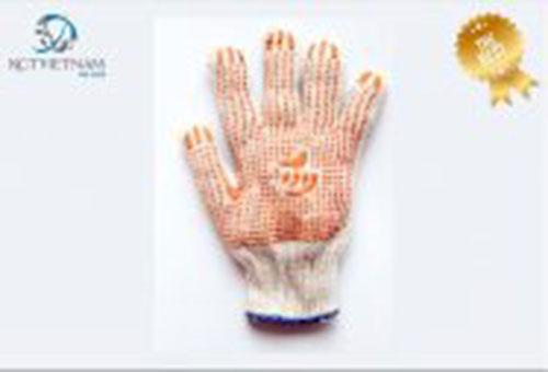 Găng tay chấm hạt