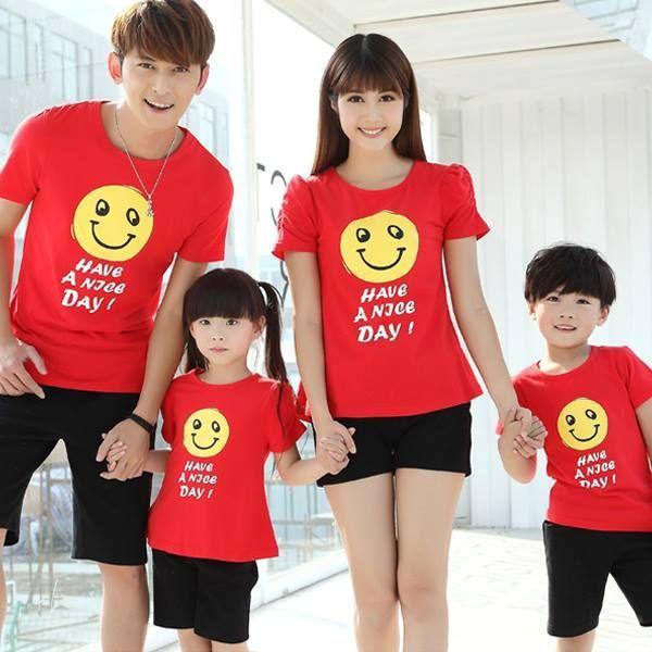 Đồng phục áo thun gia đình
