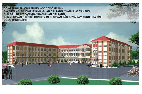 Trường học THCS Lê Bình