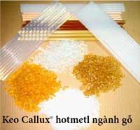 Keo Callux hotmetl ngành gỗ