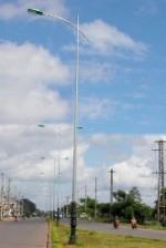 Trụ thép chiếu sáng Pole-03