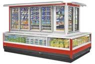 Tủ đông lạnh siêu thị