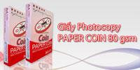 Giấy photocopy PAPER COIN  (đỏ) 80 gsm