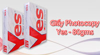 Giấy photocopy YES 80 gsm