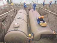 Xây dựng bể chứa xăng dầu