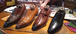 Gia công giày nam