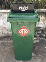 Thùng rác nhựa HDPE nắp hở