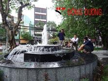 Hệ thống phun nước cao ốc 193 Đinh Tiên Hoàng