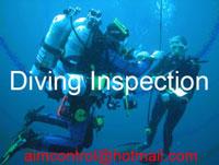 Làm cao hà - quay camera và giám định thực hiện công việc dưới nước