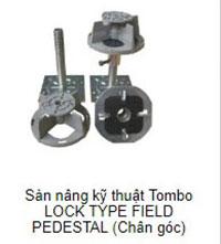 Sàn nâng kỹ thuật Tombo chân góc