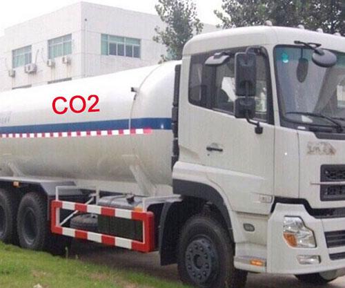 Xe chở khí CO2 lỏng