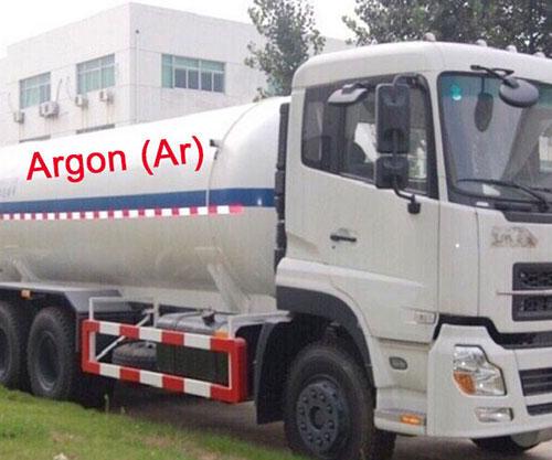 Xe chở khí Argon lỏng