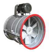 quạt cấp gió đường ống