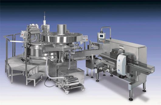 Dây chuyển sản xuất kem dạng xoay