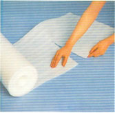 Mút xốp cuộn mút có lổ