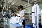 Giặt đồ vải ngành hàng không